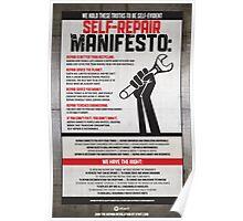 iFixIt Self-Repair Manifesto Poster