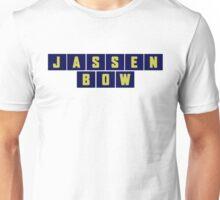 JassenBow Blue/Yellow Unisex T-Shirt
