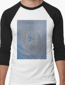 Embossed Men's Baseball ¾ T-Shirt