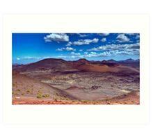 Martian Ground or Lanzarote? Art Print