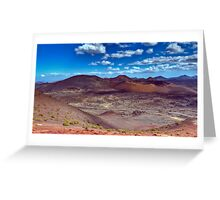 Martian Ground or Lanzarote? Greeting Card