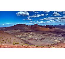 Martian Ground or Lanzarote? Photographic Print
