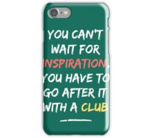 Go After Inspiration With A Club iPhone Case/Skin