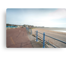 Morecambe seafront Canvas Print