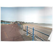 Morecambe seafront Poster