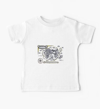 Neverland Illustration Baby Tee