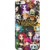 League of Legends chibis iPhone Case/Skin