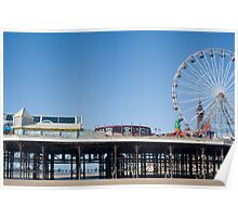 Blackpool Central Pier Poster