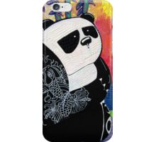 Panda Zen Master iPhone Case/Skin