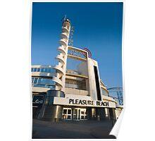 Blackpool Pleasure Beach building Poster