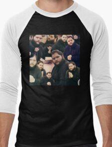 Buttcrack man Men's Baseball ¾ T-Shirt