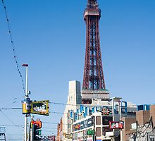 Blackpool Tower and Promenade by photoeverywhere
