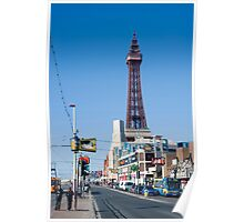 Blackpool Tower and Promenade Poster