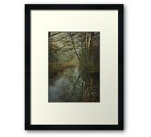 The Lonely River Framed Print