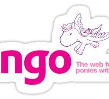 Django Poney Web Framework Sticker