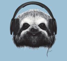 Sloth DJ One Piece - Short Sleeve