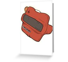 View Master Greeting Card