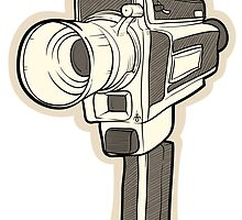 80's camera by JonahVD