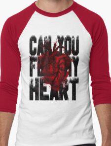 Feel my heart Men's Baseball ¾ T-Shirt
