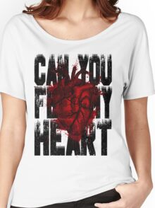 Feel my heart Women's Relaxed Fit T-Shirt