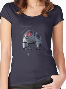 Large Insect robot thing! Women's Fitted Scoop T-Shirt