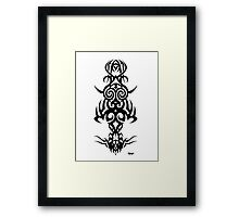 Tribal Person Framed Print