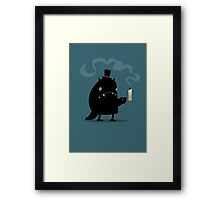 Night monster Framed Print