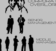 Office Hierarchy Sticker