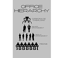 Office Hierarchy Photographic Print
