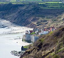 Beach at Robin Hoods Bay by photoeverywhere