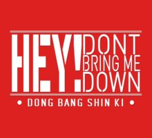 TVXQ - HEY! Don't Bring Me Down (White) by kuchizuken