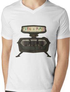 Pack a punch Mens V-Neck T-Shirt