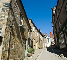 View up Kings Street, Robin Hoods Bay by photoeverywhere