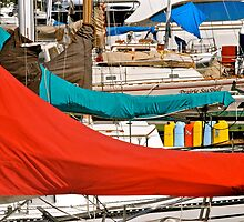 Marina colours  by richard  webb
