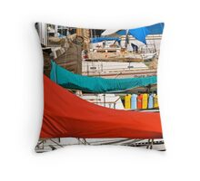 Marina colours  Throw Pillow