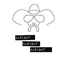 Alright Alright Alright - Cowboy Photographic Print