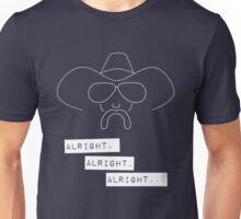 Alright Alright Alright (dark) Unisex T-Shirt