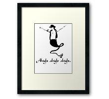 Alright Alright Alright - Genie Framed Print