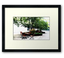 Places Framed Print