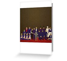 Grand Budapest Hotel Greeting Card