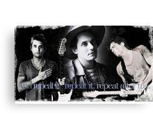 """John Mayer """"Whisky, Whisky, Whisky"""" Canvas Print"""