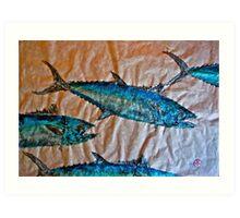 School of Mackerel - Spanish Invasion Art Print
