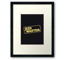 Jedi Master Framed Print