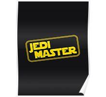 Jedi Master Poster