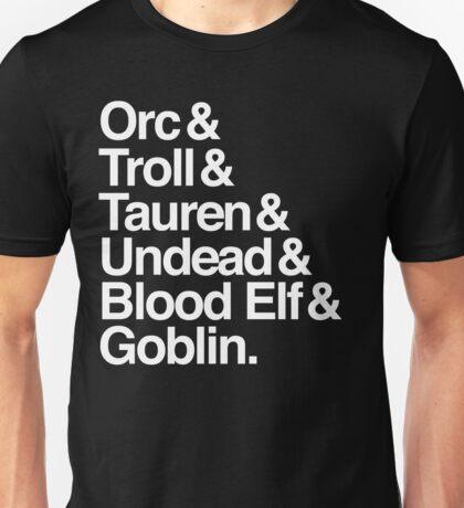 Horde (White Version) Unisex T-Shirt