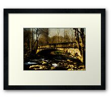 Bridge in The Great Smoky National Park Framed Print