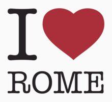 I ♥ ROME by eyesblau