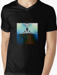From the Depths Rising Mens V-Neck T-Shirt