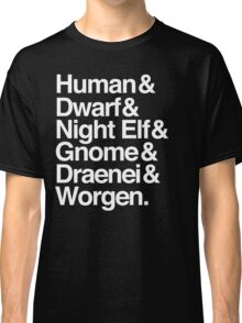 Alliance (White Version) Classic T-Shirt