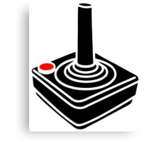 Joystick Canvas Print